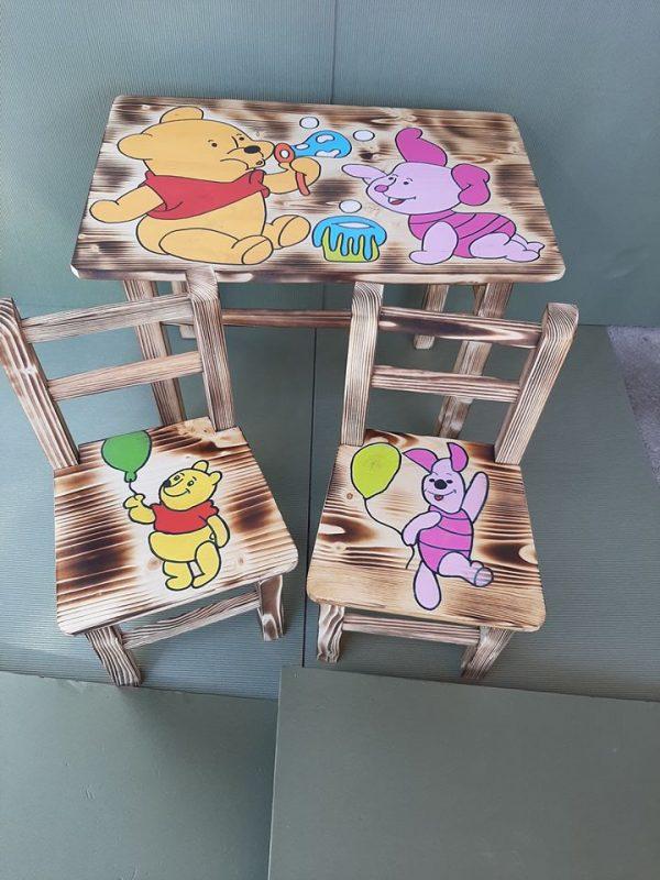 mizica in stolčka medvedek pooh