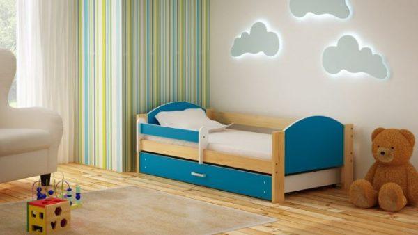 otroška postelja bartek 160x80-180x90