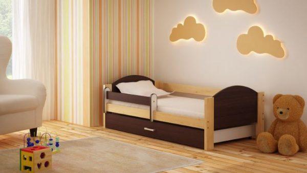 otroška postelja bartek wenge