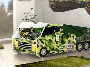 Avto postelja tovornjak