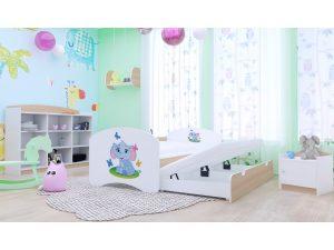Izvlečna postelja za dva otroka