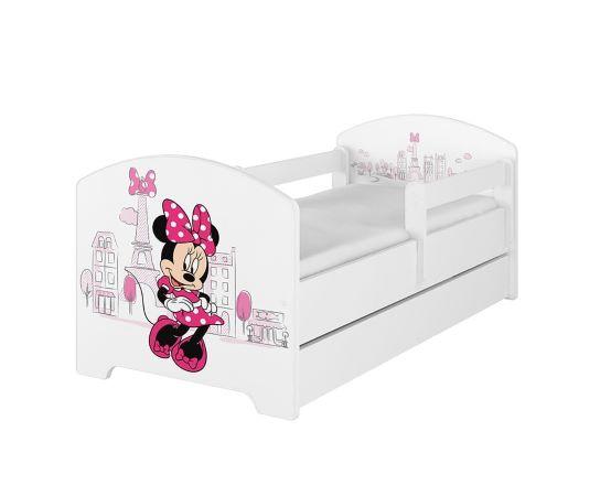 otroške postelje disney 140x70-160x80