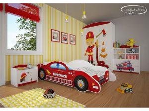 Otroška soba Gasilec 21