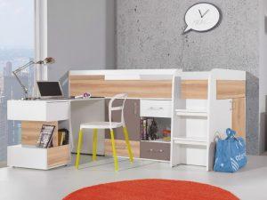 postelja s pisalno mizo mobi 21