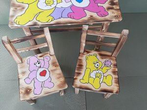 mizica in stolčka medvedki