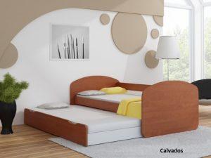 Postelja za dva otroka Calvados