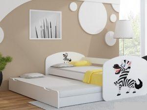 Postelja za dva otroka Zebra