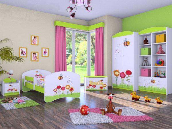 Otroška soba Happy Rožice