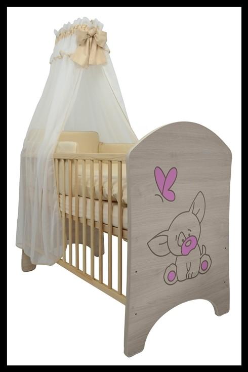 """Soba za dojenčke Standard """"Vgravirana Čivava"""" roza"""