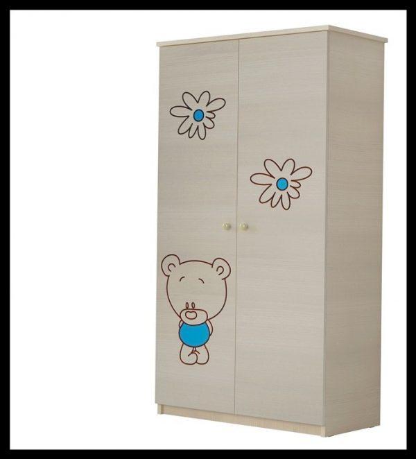 """Soba za dojenčke Standard """"Vgraviran Medvedek"""" moder"""