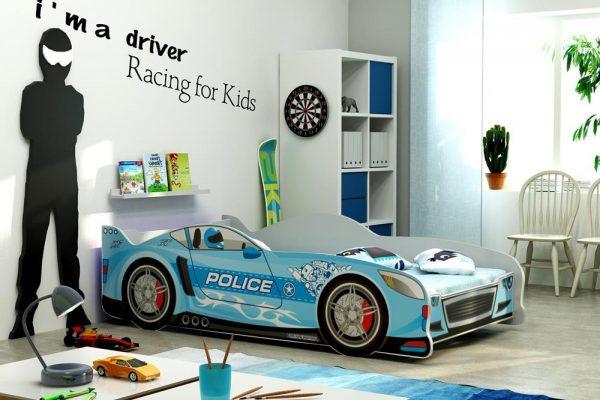 Postelja CARS