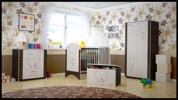 """Soba za dojenčke Standard """"Rjav Medvedek"""""""