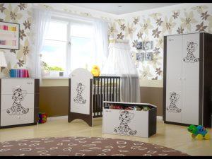 """Soba za dojenčke Standard """"Rjav Tigerček"""""""