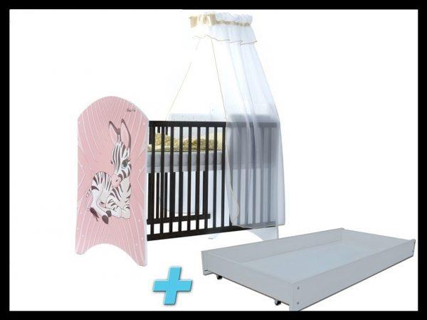 "Soba za dojenčke Standard ""Roza Zebra"""