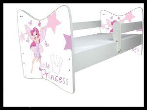 "Postelja Junior Delux ""Little Princess"""