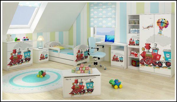"""Otroška soba Oskar """"Vlakec"""""""