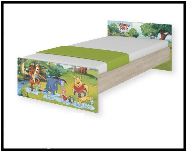 """Postelja Max """"Pooh v gozdu"""""""