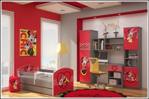 """Otroška soba Oskar """"Minnie v srčku"""""""