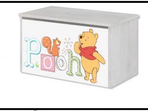 """Zaboj za igrače Disney """"Pooh in Pujsek"""""""